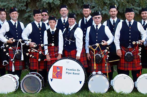 Feadan Or Pipe Band
